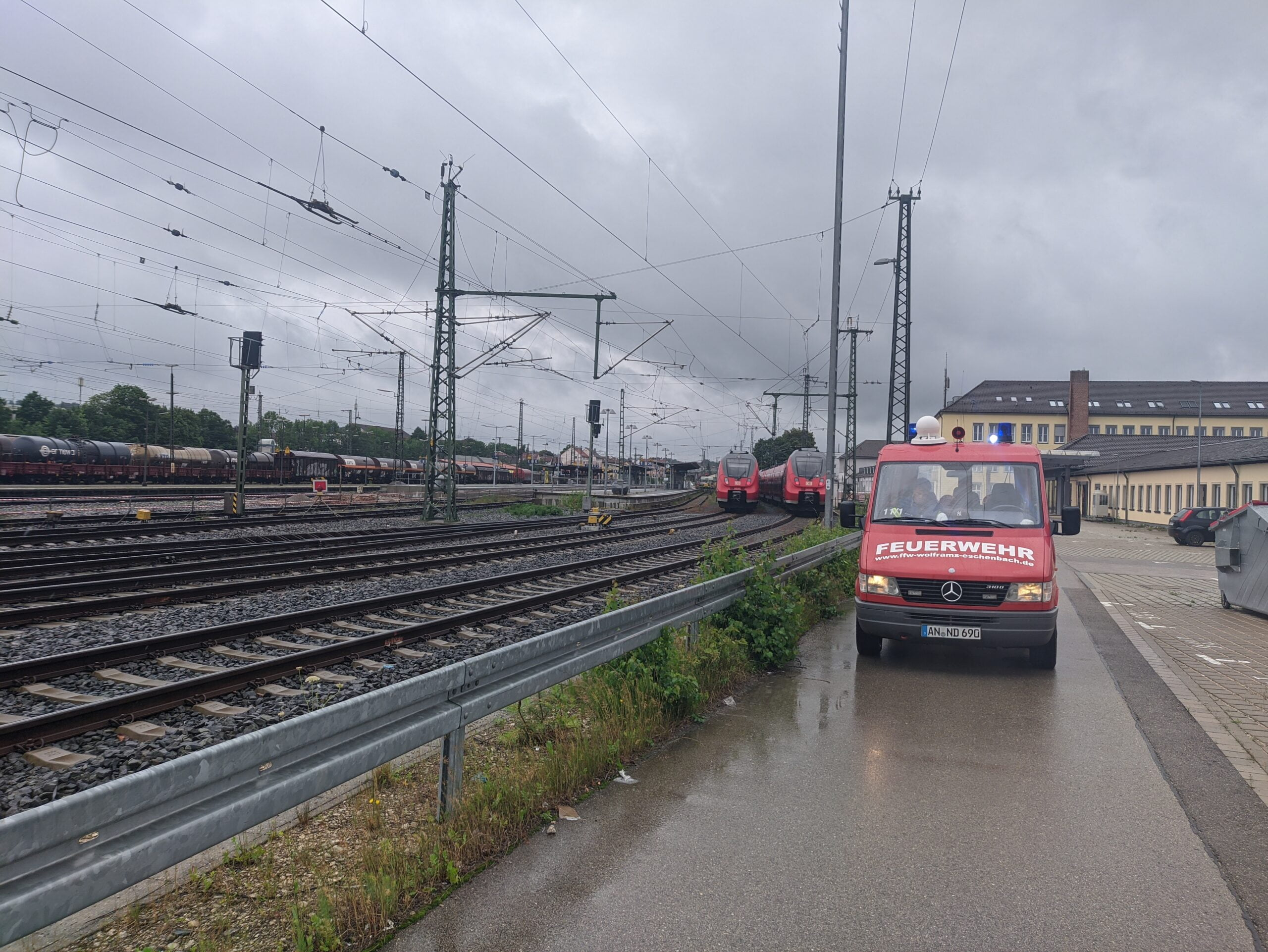 Mobela Ansbach Bahnhof